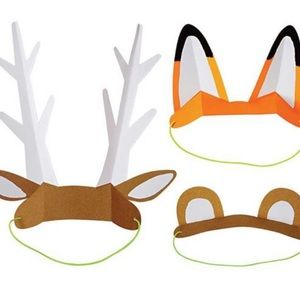 Party Supplies - Woodland Forest, Explore & Camp party supply pack